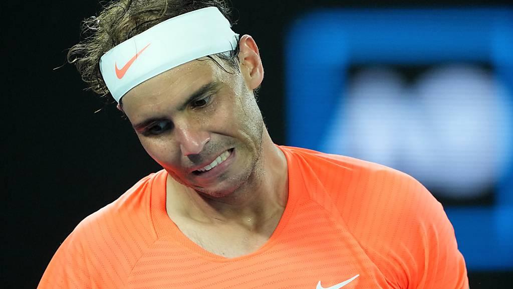 Macht wegen seiner Rückenproblemen schmerzhafte Zeiten durch: Rafael Nadal