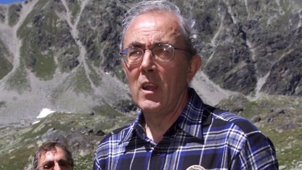 Setzte sich für die Natur und die rätoromanische Sprache ein: der frühere Bündner SP-Nationalrat Martin Bundi (1932-2020).