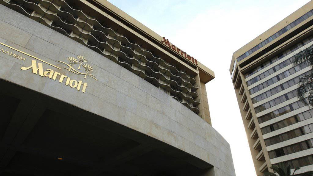 Kaufte 2015 zu: Die Hotelgruppe Marriott (Archivbild).