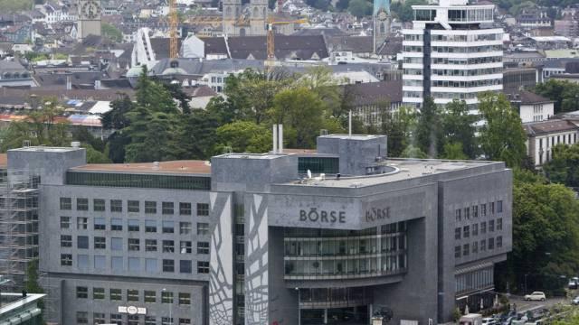 Die Börse in Zürich (Archiv)