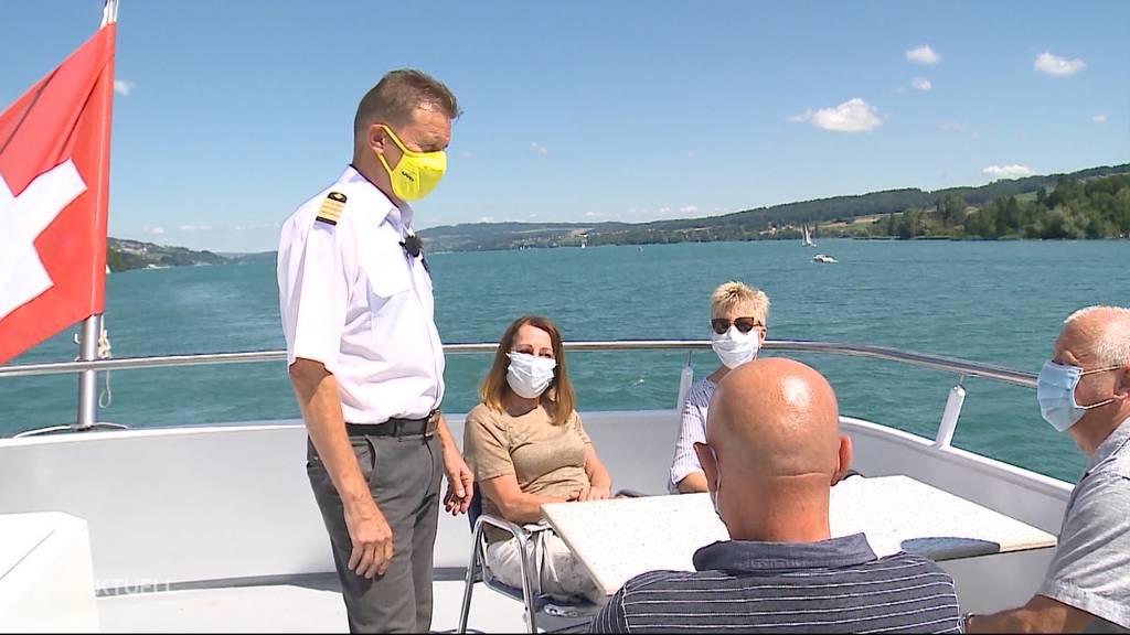 Weniger Passagiere bei der Hallwilersee-Schifffahrt wegen Maskenpflicht?