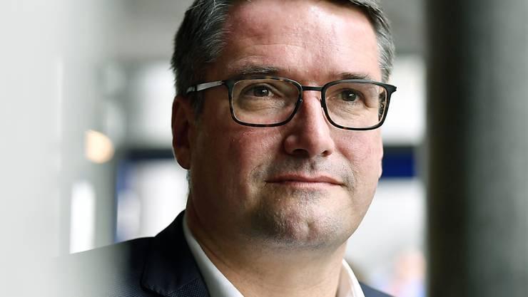 SP-Parteipräsidenten Christian Levrat sieht im Ja zur AHV-Steuervorlage ein erstes Etappenziel erreicht. (Archivbild)