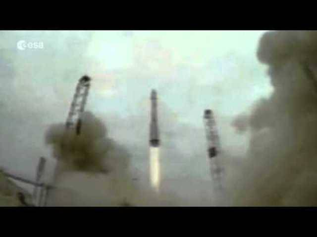 Der Start zur ExoMars-Mission