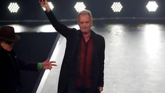 Der britische Rockstar Sting wurde bei den International Music Awards (IMA) in Berlin mit dem Preis für sein Lebenswerk ausgezeichnet.