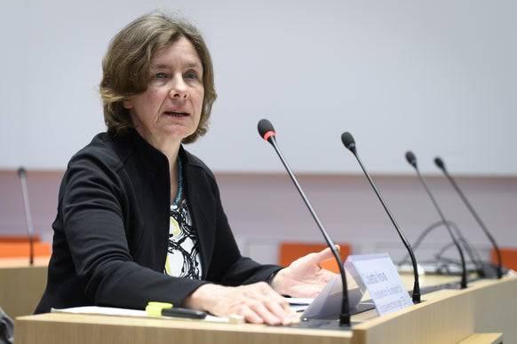 Colette Nova, Vizepräsidentin Bundesamt für Sozialversicherungen.