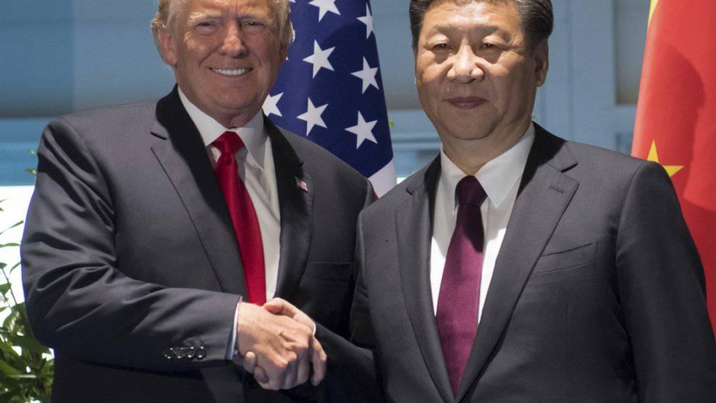 US-Präsident Donald Trump und Chinas Präsident Xi Jinping (Archiv)