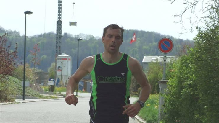 Ist bereit für den baldigen Swiss Triathlon Circuit: Lukas Müller.