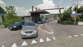 Das war einmal: Der Grenzübergang Bad Zurzach - Rheinheim ist komplett geschlossen.
