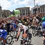 Die 5. Etappe des Giro d'Italia 2018 endete mit dem Tagessieg des Italieners Enrico Battaglin