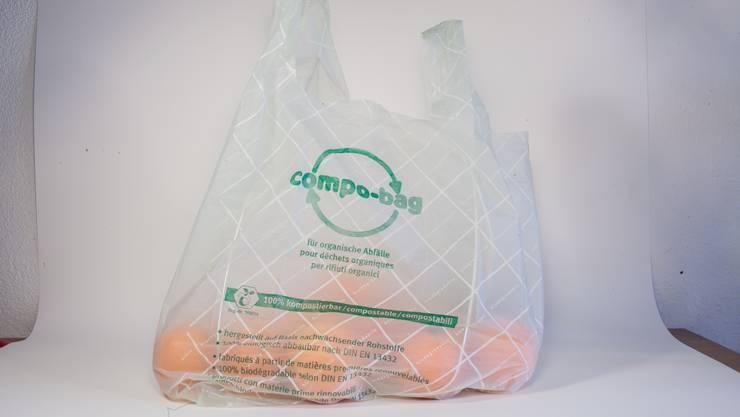 Sorgt für Ärger: Kompost-Säckli.