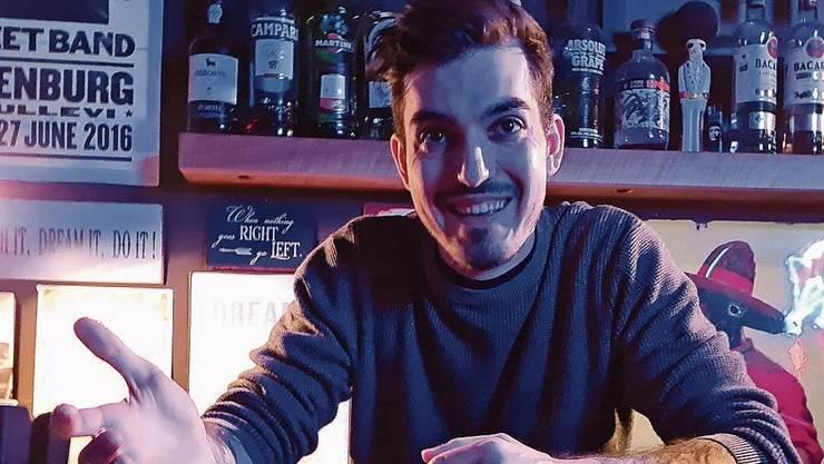 Barkeeper Nico Villiger hofft, dass die Menschen solidarisch bleiben.