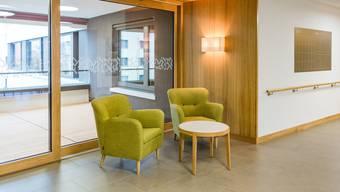 46 Millionen Franken kostete der Neubau des Alters- und Pflegezentrums Länzerthus in Rupperswil. Die Bewohner sind kürzlich eingezogen.