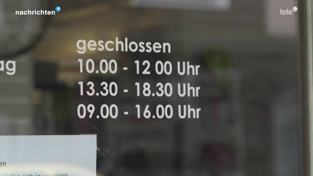 Diskussion um längere Ladenöffnungszeiten in Zug