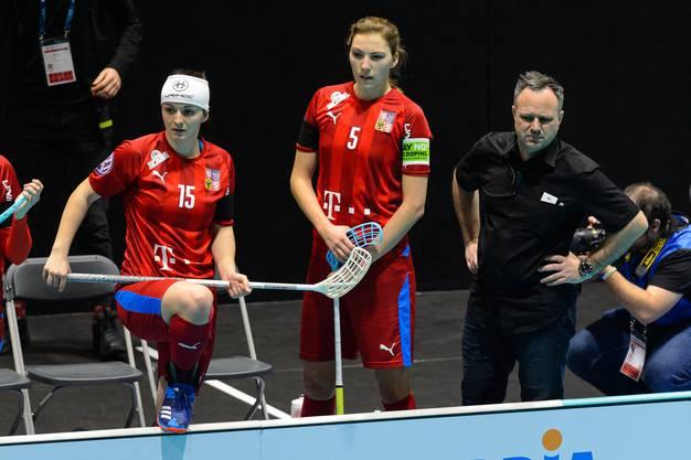 Nicht in der Favoritenrolle sind die Tschechinnen und Sascha Rhyner, wenn sie heute Abend auf die Schweiz treffen. Damit kann der Schweizer Coach aber gut leben.