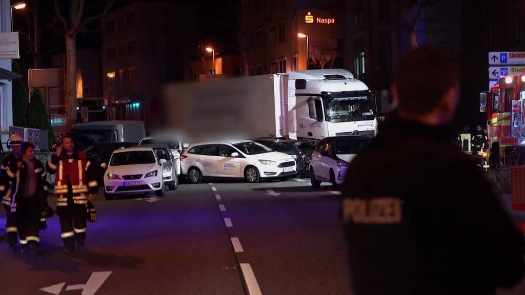 LKW-Vorfall in Limburg als Terror-Anschlag eingestuft