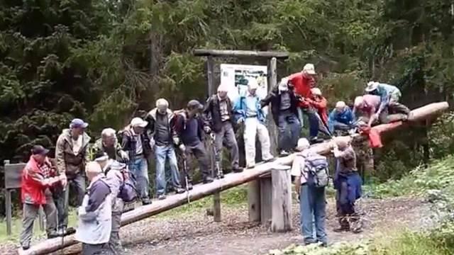 Wippen-Unfall