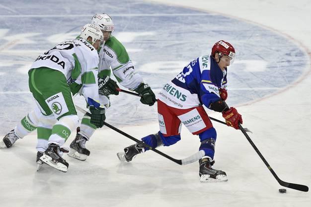 Helsinki startete furios und ging bereits in der ersten Minute in Führung.