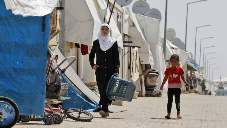 Ein Flüchtlingslager im Südosten der Türkei. (Symbolbild)