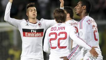 Stephan El Shaarawy rettete Milan einen Punkt auf Sizilien