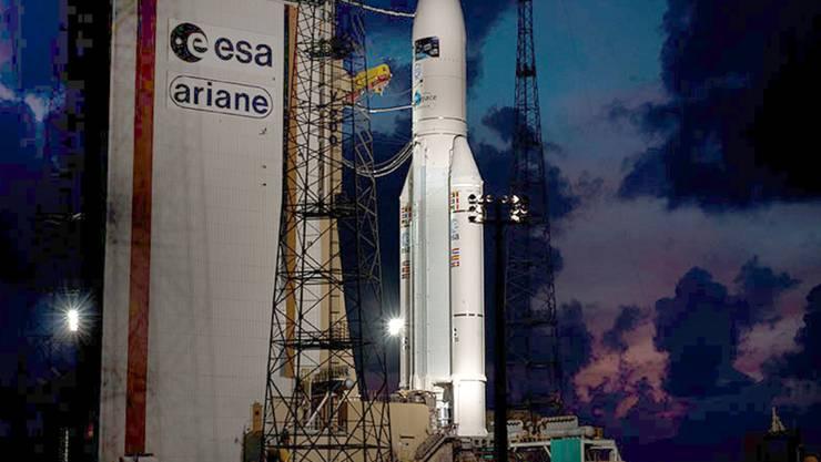 Der Weltraumbahnhof für die europäischen Ariane-Raketen in Kourou in Französisch-Guyana (Archivbild)