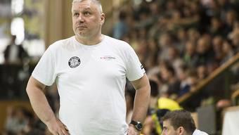 Macht mit St. Otmar eine schwierige Phase durch: Trainer Predrag Borkovic