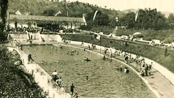 Früher war das Freibad in Gipf-Oberfrick ein beliebter Ort an heissen Sommertagen.v