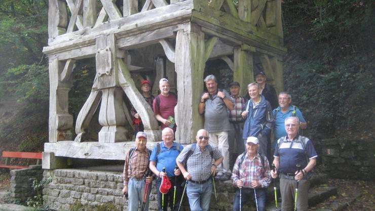 Beim ehemaligen Glockenstuhl am Feufweier.