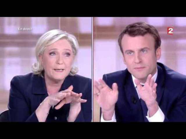 Die grosse TV-Debatte vor der Präsidentschaftswahl in Frankreich