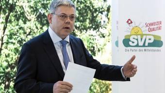 Der Luzerner Nationalrat Franz Grüter sagte schon mehrfach Nein zu einer Kandidatur. Die Findungskommission will doch noch einmal mit ihm reden.