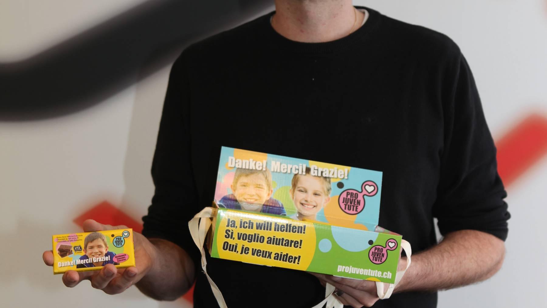 Pro Juventute: Schoggiverkauf für guten Zweck