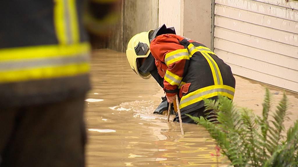 Dutzende Feuerwehreinsätze: Gewitterfront trifft Toggenburg