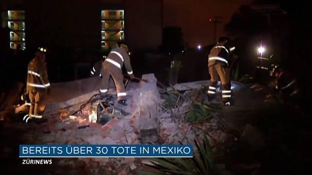 Schwerstes Beben in der Geschichte Mexikos