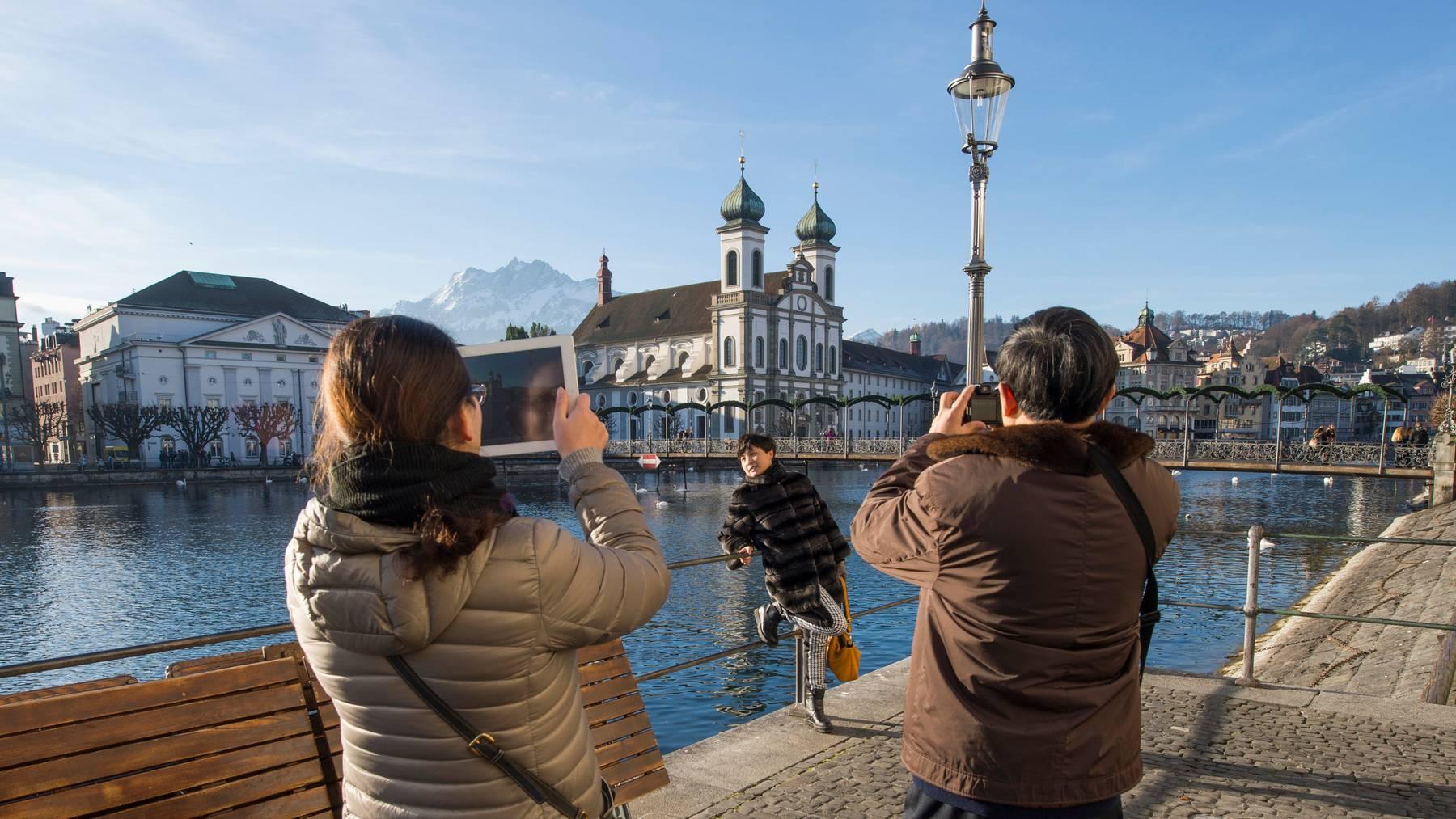 Vor allem in Luzern werden in diesem Jahr asiatische Touristen fehlen.