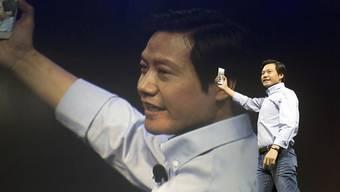 Der Gründer und Chef des chinesischen Smartphone-Herstellers Xiaomi, Lei Jun, musste für das abgelaufene Geschäftsjahr einen Mega-Verlust bekanntgeben. (Archivbild)