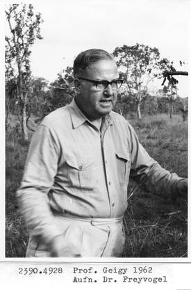 Professor Rudolf Geigy