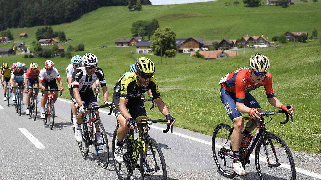 Die Tour de Suisse 2020 endet in Andermatt (Archivbild)