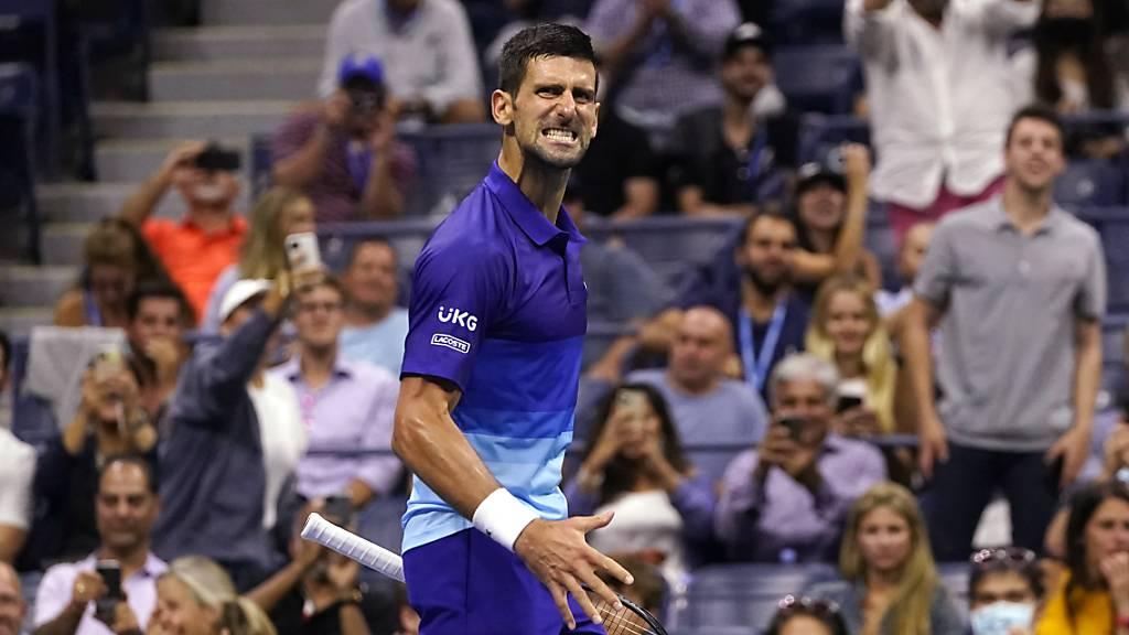 Novak Djokovic spielt sich am US Open in Form