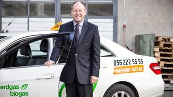 Roland Wunderli, Geschäftsführer Badener Taxi AG: «Wir werden vom Uber-Rückzug profitieren. Gerade in der Nacht wird jetzt wieder mehr los sein.»