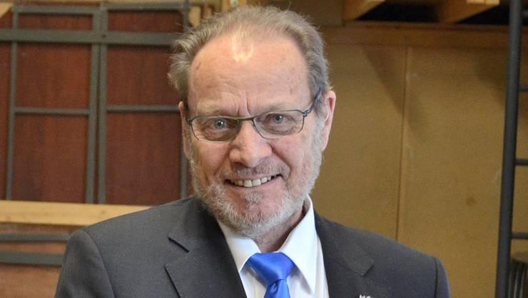 Strahlendes neues Ehrenmitglied Hans Rudolf Marolf aus Kaisten.