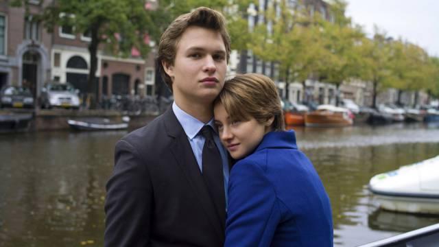 Vor Tom Cruise: Ansel Elgort (l.) und Shailene Woodley