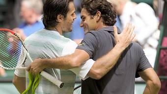 Tommy Haas und Roger Federer machen gemeinsame Sache.