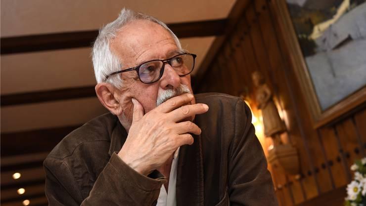 Hansjörg Schneider im Hotel Engel in Todtnauberg. Juri Junkov