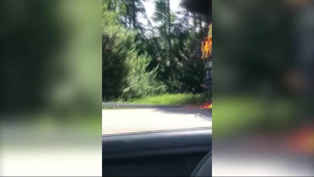 Führt die Hitze zu mehr Fahrzeugbränden?