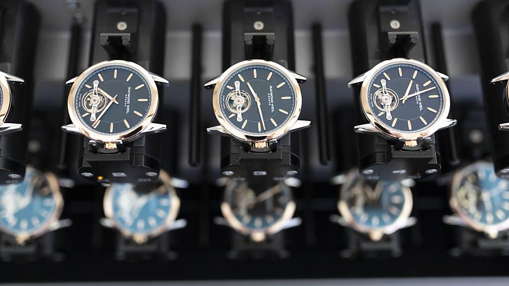 Uhrenexporte liegen im Juni wieder über Vor-Corona-Niveau