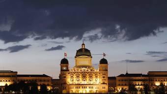 Das Bundeshaus wird am Donnerstag anlässlich des internationalen Tages gegen Gewalt an Frauen orange beleuchtet. (Symbolbild)