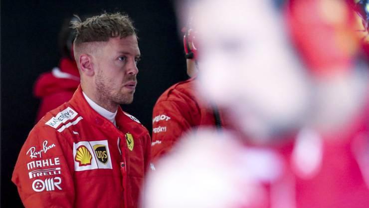 Sebastian Vettel startet zum vierten Mal aus der Pole-Position zum Grand Prix von China