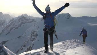 Wahnsinn: Speed-Bergsteigen im Aletschgebiet.