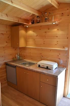 9 Baumgartners Häuschen ist auch mit einem Kühlschrank ausgerüstet