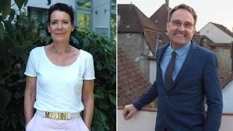 Die Fricktaler Kandidaten der GLP: Béa Bieber und Michael Derrer.