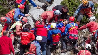 Bergung des verunfallten Forscher aus der Riesending-Schachthöhle kommt voran